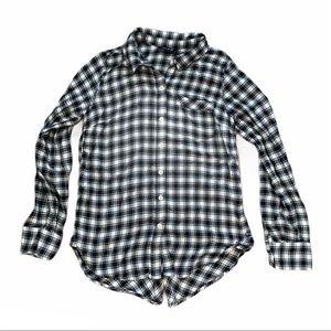 Lucky Brand long sleeve button up flannel XS